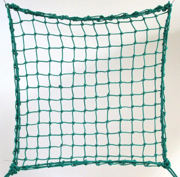 6cm 4mm polypropylene hand-knotted green