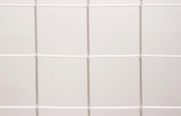 Védőháló, gépi fehér PES 10cm 5mm