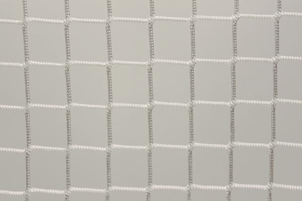 Protection net, PES 5cm 5mm white machine-made