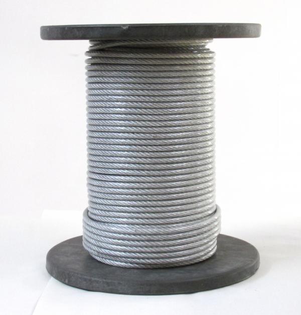 Drót (sodrony) kötél Horganyzott
