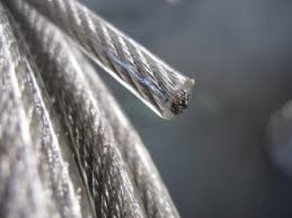 Drót (sodrony) kötél PVC bevonatos