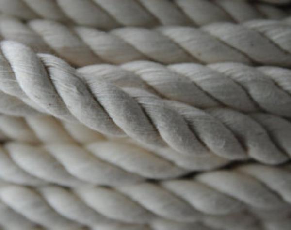 Sodrott Pamut kötél