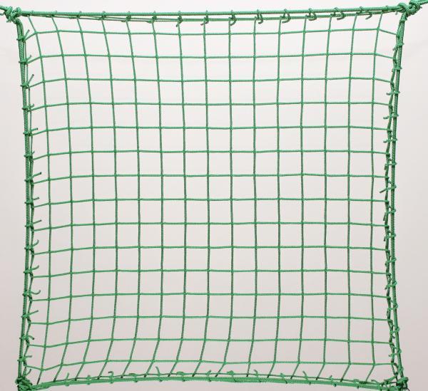 Védőháló, gépi zöld PP 4,5cm 3mm