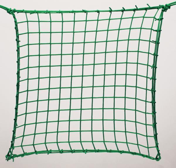 Védőháló, gépi zöld PP 5cm 4mm