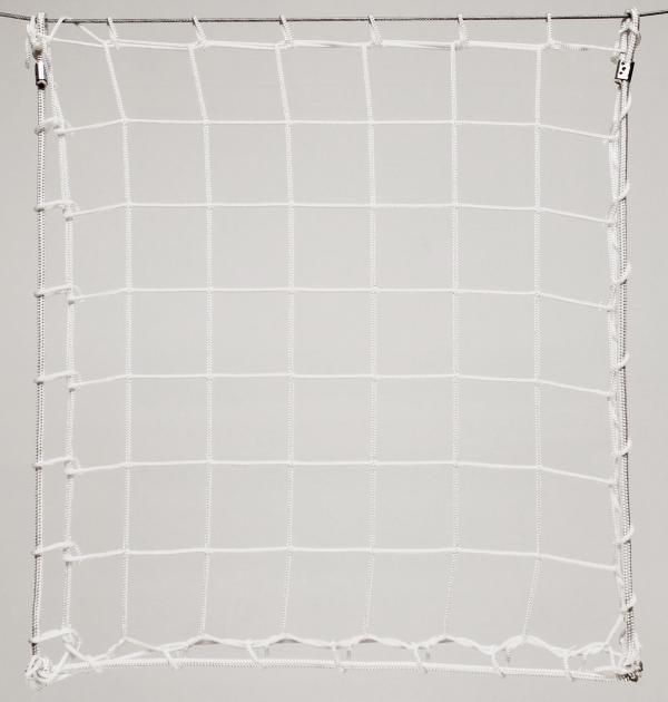 Védőháló, gépi fehér PP 10cm 4mm