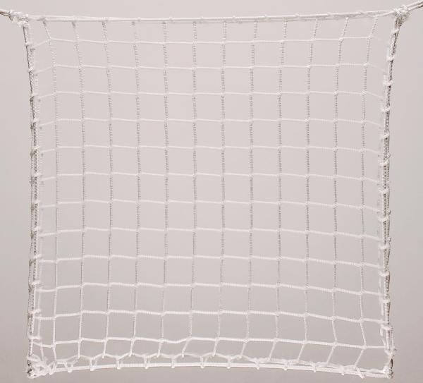 Protection net, PP 5cm 4mm white machine-made